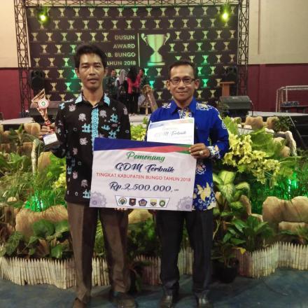 Desa Award : Tirta Mulya raih kategori Pengelolaan Program GDM Terbaik
