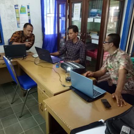 Pelatihan Admin Web Desa Tirta Mulya Kecamatan Pelepat Ilir