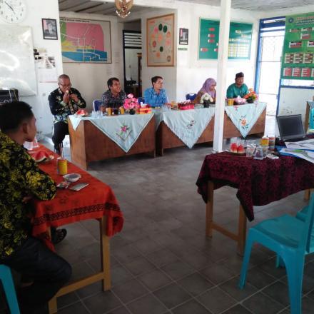 Kunjungan Kemendes Di Dusun Tirta Mulya